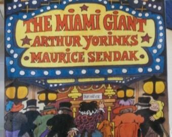 The Miami Giant by Arthur Yorinks & Maurice Sendak (1995, First Edition) HBw/DJ