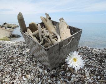 "Large Bulk Driftwood, 100 Driftwood Pieces Approximately 2""-12"", Drift Wood Supplies for Crafts, Beach Wedding Decor, Lake House Decor"