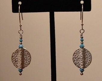 Hill Tribe Silver Artisan Earrings