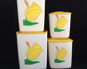 Retro vintage canister