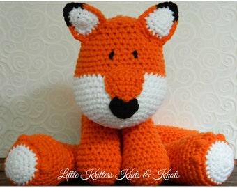 Crochet Fox Huggable AmigurumiToy