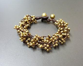 Bead Spacer Bunch Bracelet