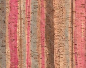 """Cork leather, green product, Portuguese cork fabric Printed pattern 68x50cm / 27.50""""x20"""","""