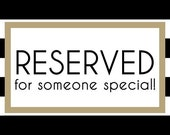 RESERVED FOR STACY