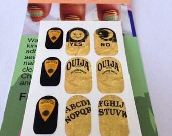 Ouija Board Water Slide Nail Decals