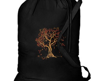 Autumn Tree Splendor New Laundry Camp Travel Shop Tote Bag Gifts