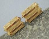 Vintage Krementz Gold Filled Cufflinks Mens Jewelry H752
