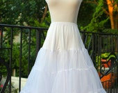Rockabilly Three Layered Skirt Petticoat Slip Crinoline Underskirt - Ready to ship!