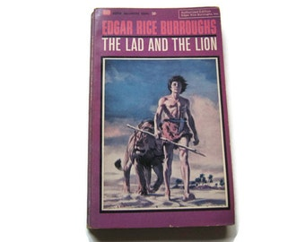 The Lad and the Lion, Edgar Rice Burroughs 1964, Ballantine Books