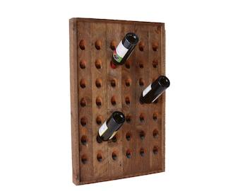 Wine Rack Reclaimed Riddling Rack