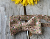 Fall Floral Bow Tie