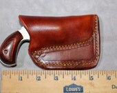 Pocket holster for North Amarican Arms 22 mag 1 1/8 or 1 5/8 barral.  NAA 22 mag