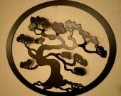 Bonsai Tree 3D Metal wall art