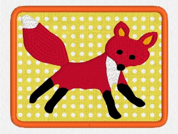 how to create an applique patch with an embroidery machine
