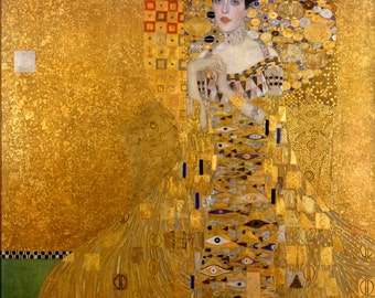 Adele Bloch-Bauer I by Gustav Klimt - a 250 piece Wooden Jigsaw Puzzle from BCB Puzzles