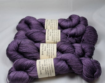 Mysterious Poetry 50/50 SW merino/silk fingering weight yarn