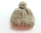 Beanie chunky winter hats and caps accessories slouchy Pom Pom unisex women's knit handmade hat