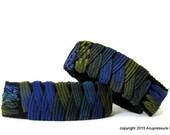 Motion Sickness Anti Nausea Bracelets for nausea, vertigo, car sickness, anxiety. Totally adjustable. Midnight Madness