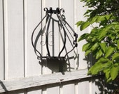 Architectural Salvage Metal Scroll Wall Hanging - Chandelier - Planter - Sconce [Alo]