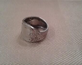 Silverware Spoon Ring - Stainless Steel