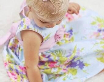Fabric Flower Hair Clip, Flower Girl Hair Clip, Baby Hair Clips, Hair Accessories, White Flower Hair Clip, Girls Accessories, Photo Prop