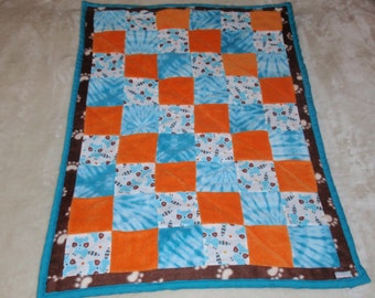 RACCOON TAILS Baby Quilt