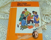"""1966 Ginn Basic Reader """"The Little Whie House"""" School Book SIMILAR To Previous Dick and Jane Books, Gift for Teachers, Reading Book #71"""