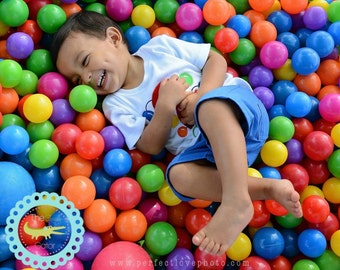 Bouncy Ball BIRTHDAY Personalized Applique Shirt, first birthday, fun zone birthday, bouncy house, bouncing balls, water slide, photo prop