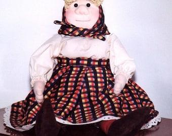 Soft Sculpture Doll PDF Old Woman