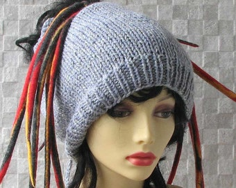 SALE Hat Dreadlock accessories Dread Tube Hat Dredlocks Headband Mens Dred Wrap