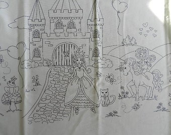COLOR ME Border  Royal Life by Micheal Miller - Fabric By The Yard