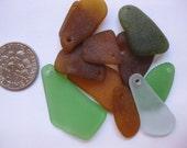 sea glass supplies beach glass bulk  sea glass drilled beach glass 11 drilled JQ