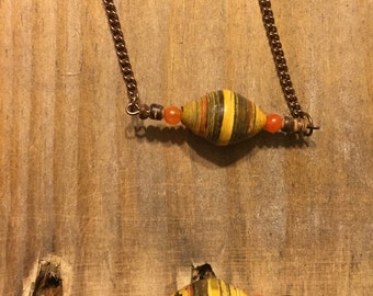 Ugandan Paper Bead Necklace (Limited Edition)