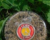 B4 Energy Art Love & Peace Symbol Orgone Chi Ki Prana life force energy Large Tower Bomb! Powerful EMF protection 24/7!