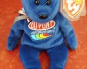Nascar Jeff Gordon DuPont #24 Beanie Baby
