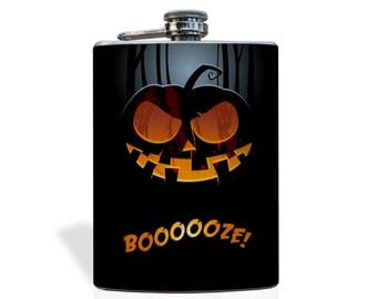Boooooze Flask - Stainless Steel 8oz Flask