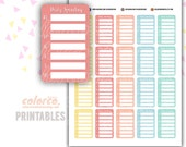 Daily spending tracker Printable Planner Stickers Erin Condren Happy Planner Inkwell Plum Paper Instant Digital Download