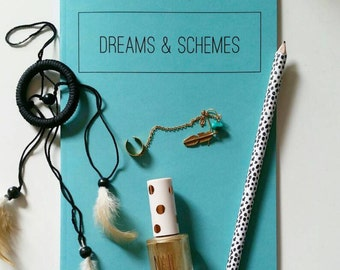 A5 Notebook Dreams & Schemes