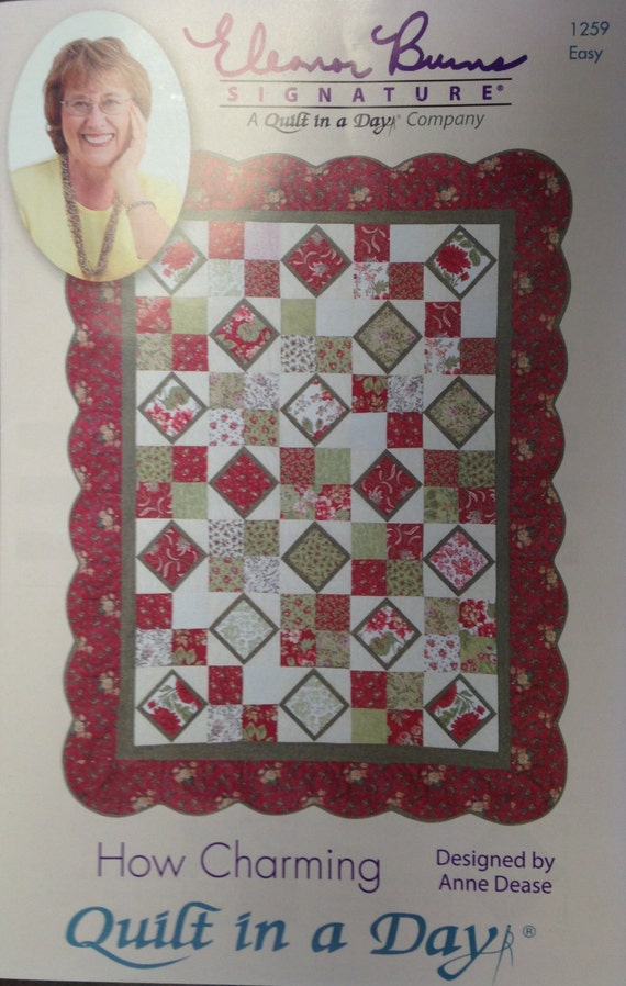 Sale!!! Quilt in a Day - Eleanor Burns - Dessert Time Quilt, How Charming, Zig A Zag Quilt ...