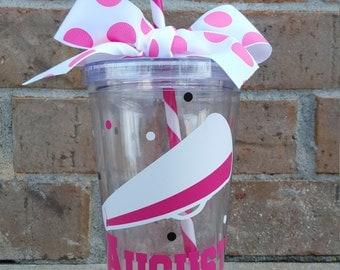 Cheer Team Gift Personalized Cheerleading Tumbler