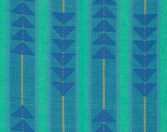 Loominous Traffic in Denim by Anna Maria Horner for frespirit fabrics