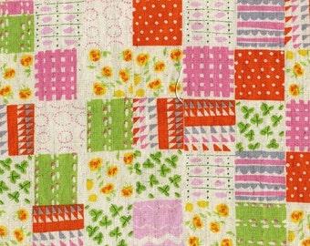 ON SALE Penny Patch in Green from Nursery Versery by Heather Ross  for Kokka