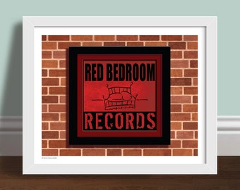 Red Bedroom Records One Tree Hill Art Print