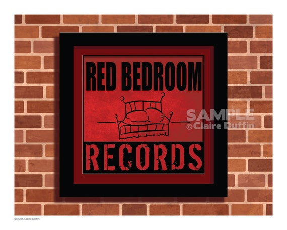 . Red Bedroom Records One Tree Hill Art Print