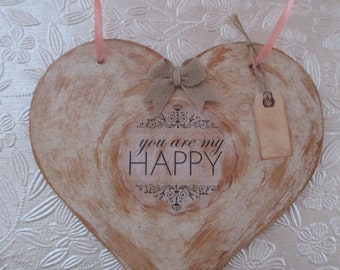 Shabby chic, Cottage Chic, Valentine, Heart