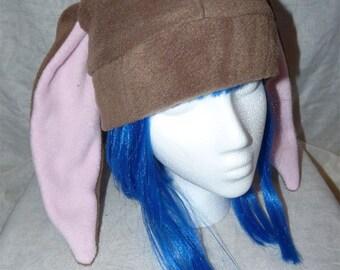 Color Options! - Short Eared Bunny Rabbit Fleece Hat