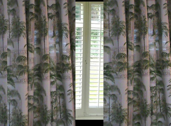 Ocean life sale curtains custom made indoor outdoor curtains - Custom made outdoor curtains ...