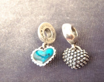 Sterling Silver Authentic Pandora Mother and Son Charm C19