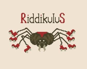 Riddikulus - Harry Potter Cross stitch pattern PDF Instant Download