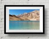 Chandratal Lake, Landscape Photograph, Himalayas, Nature, Wall Art Print, Wall Deco, Fine Art Print, Home Deco, Lake